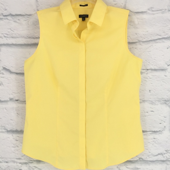 cad24b1d0f93 Talbots Wrinkle Resistant Sleeveless Button Down. M 5aee5a68077b977666276ec4